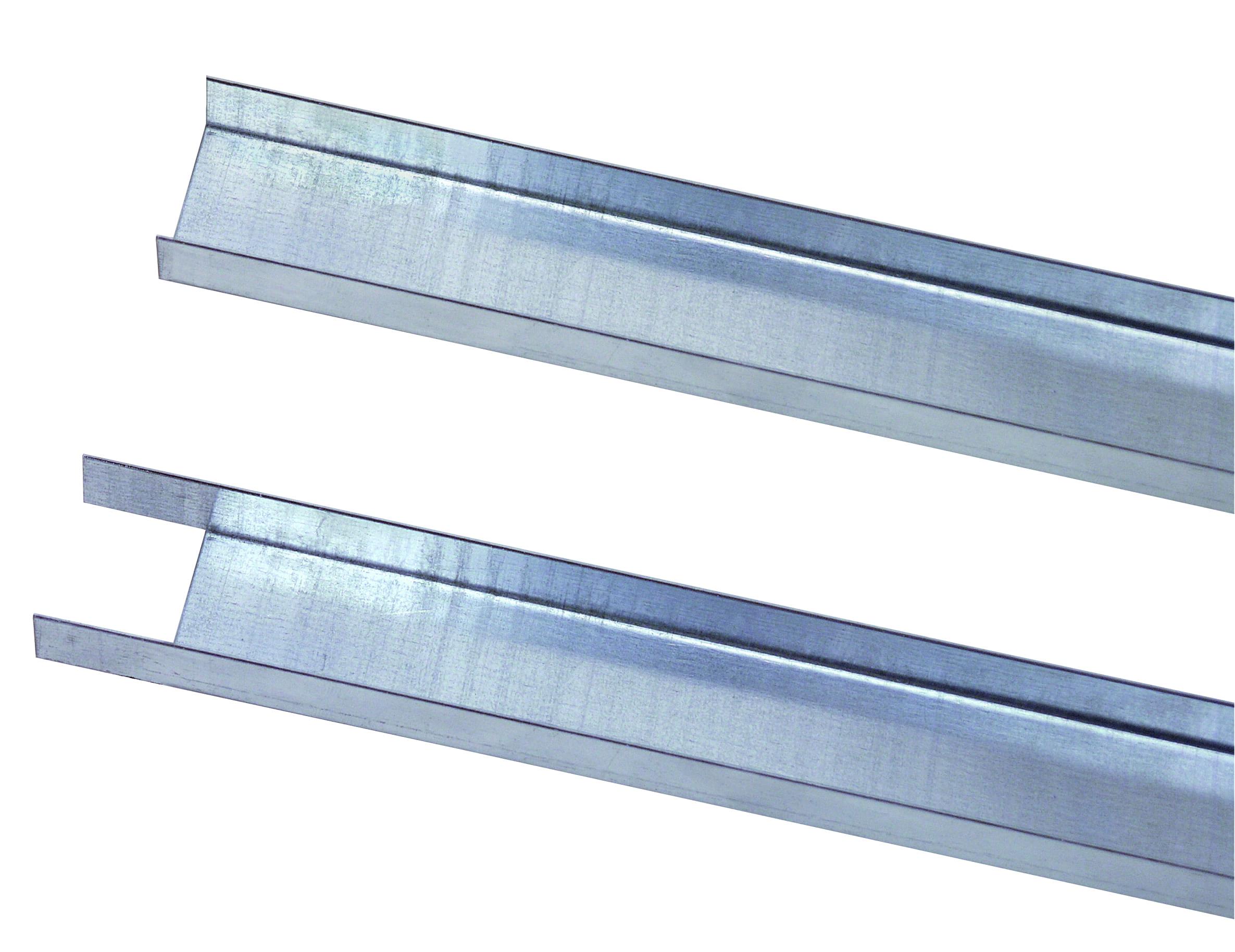 Füllleiste 1000 mm – für Einsatz mit Fachbodenträger