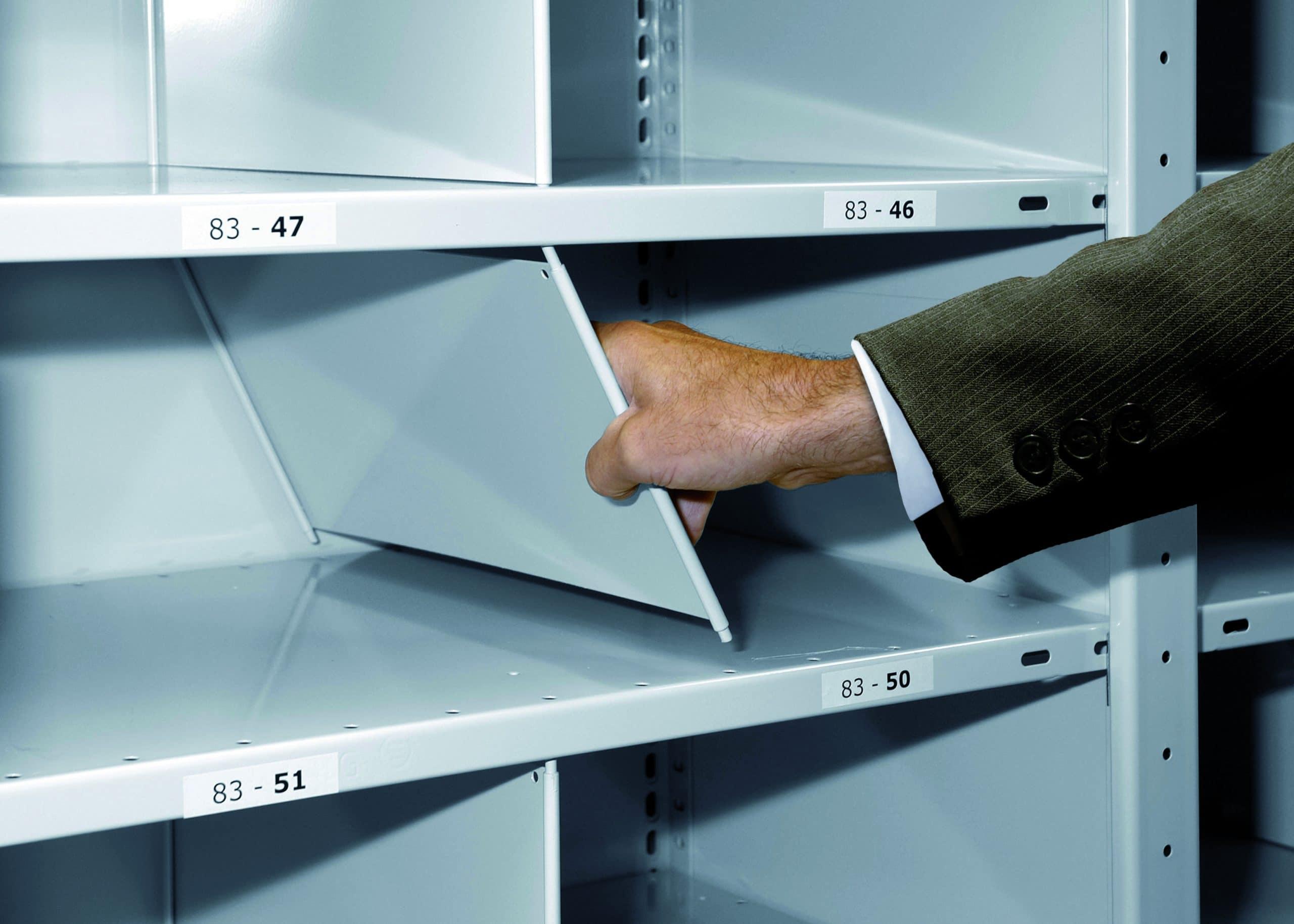 Stecktrennb. verz. 500×400 mm – TiefexHöhe, feststehend