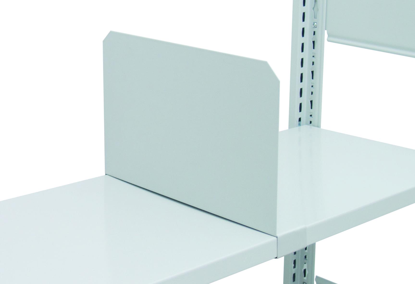 Fachteiler 500x200mm freistehend – frei verschiebbar – für 85kg & 150kg MULTIplus Fachböden