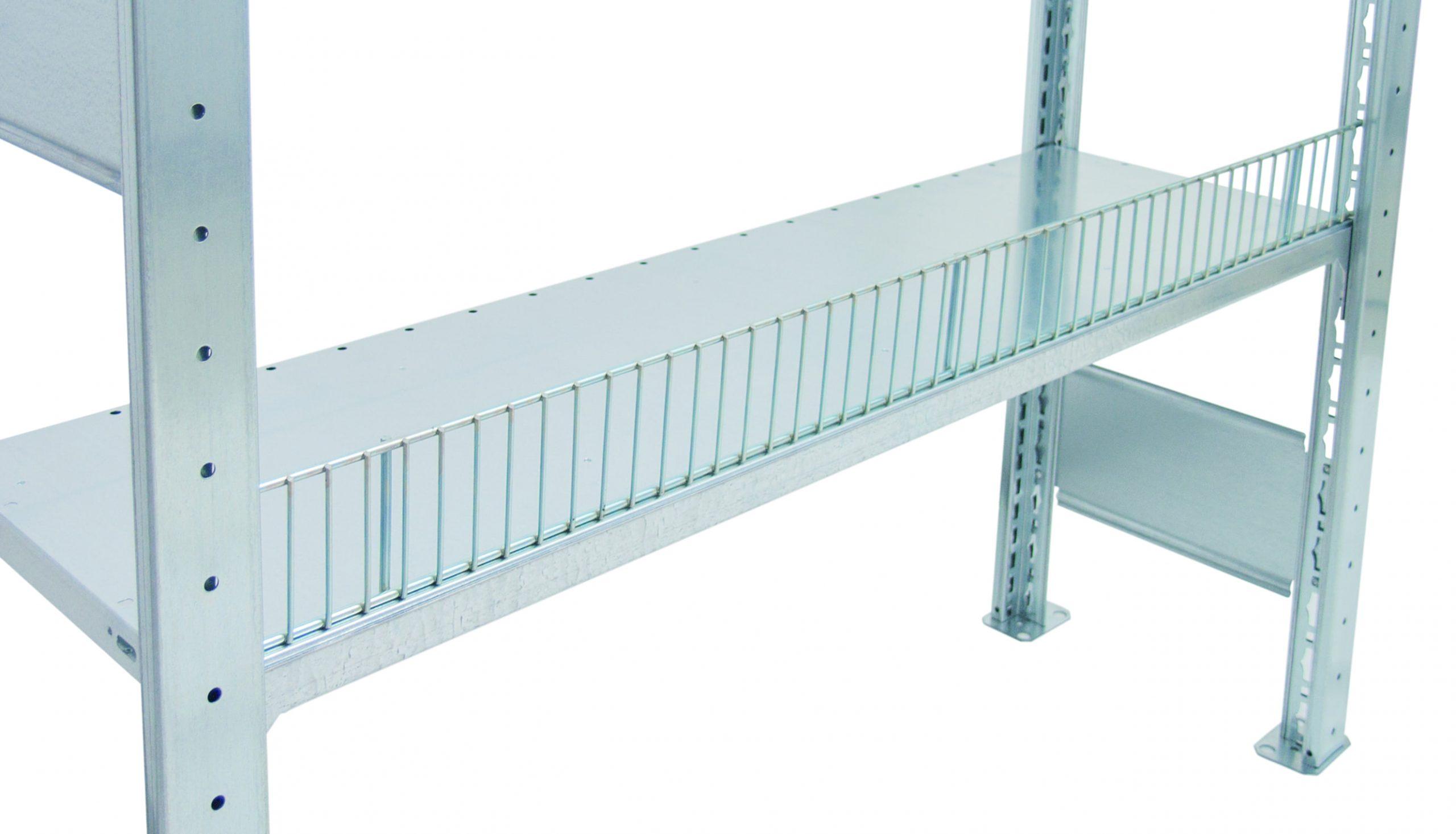 Draht Schüttgutleisten 1000×80 mm – Breite x Höhe, für 25-er Kante