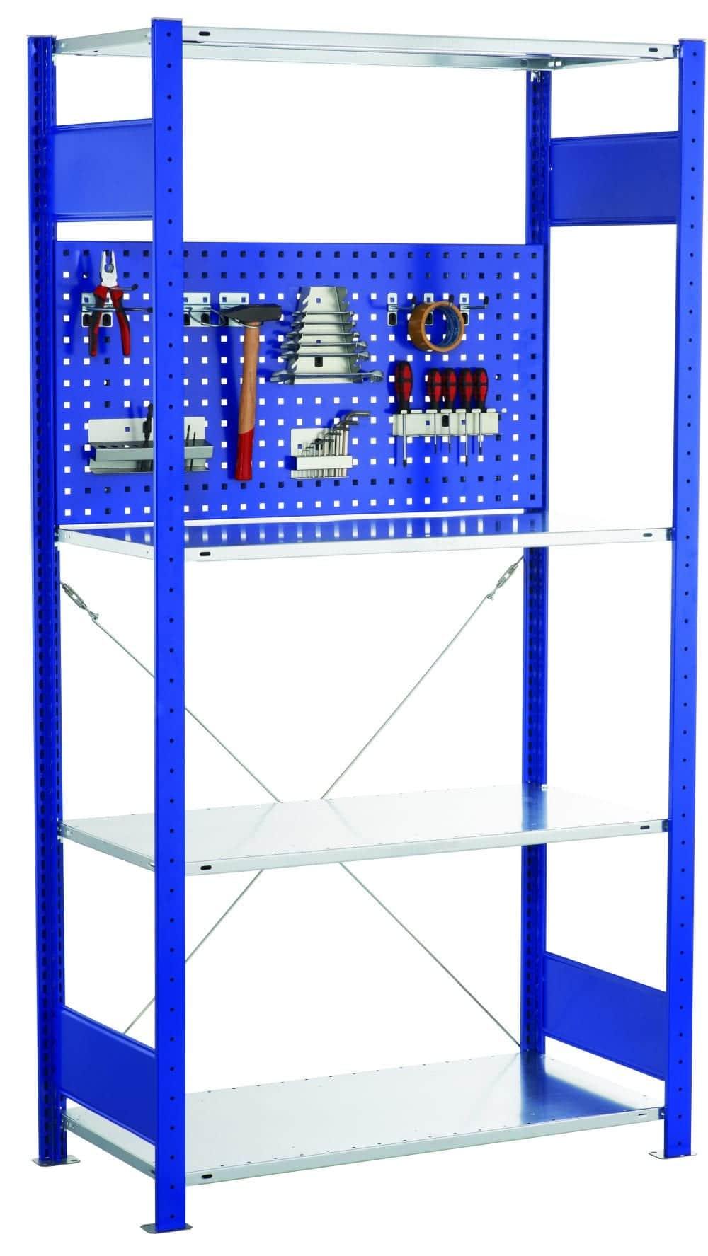 Lochplatten-Rückwandblende – HxB 500×1000 mm