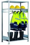 Garderobenregal von Schulte Lagertechnik bei www.kauf-dein-regal.de