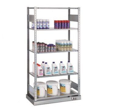 Umweltregal mit Wanne SCHULTE Lagertechnik online kaufen bei Kauf-dein-Regal.de