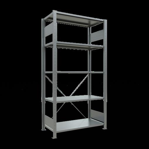 Steckregal Grundregal 2000x1000x500 mm Fachlast 150 kg 4 Fachböden