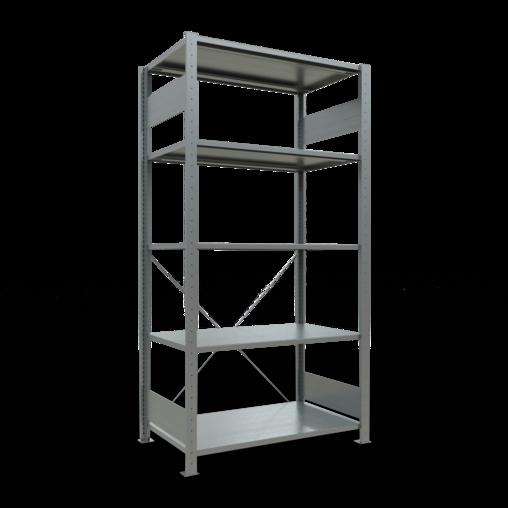 Steckregal Grundregal 2000x1000x600 mm Fachlast 150 kg 4 Fachböden