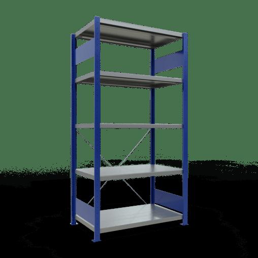 Steckregal Grundregal 2000x1300x600 mm Fachlast 250 kg Rahmen montiert 5 Fachböden SCHULTE Lagertechnik