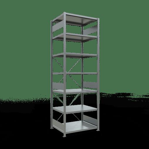 Steckregal Grundregal 3000x1000x800 mm Fachlast 250 kg 7 Fachböden SCHULTE Lagertechnik