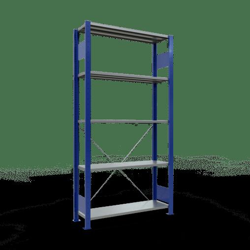 Steckregal Grundregal 2000x1000x300 mm Fachlast 85 kg Rahmen montiert 5 Fachböden SCHULTE Lagertechnik