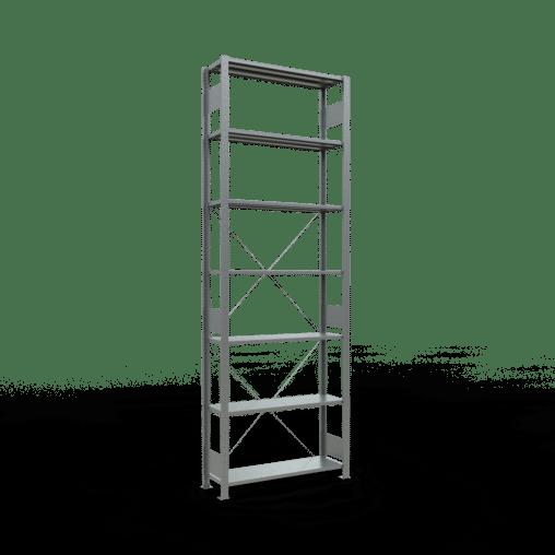 Steckregal Grundregal 3000x1000x300 mm Fachlast 85 kg 7 Fachböden SCHULTE Lagertechnik