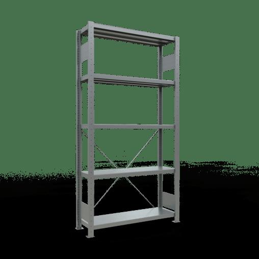 Steckregal Grundregal 2000x1000x300 mm Fachlast 330 kg Rahmen montiert 5 Fachböden SCHULTE Lagertechnik