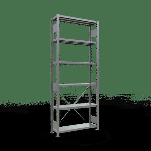 Steckregal Grundregal 2500x1000x300 mm Fachlast 330 kg 6 Fachböden SCHULTE Lagertechnik