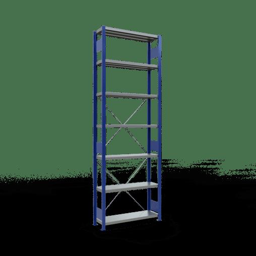 Steckregal Grundregal 3000x1000x300 mm Fachlast 330 kg 7 Fachböden SCHULTE Lagertechnik