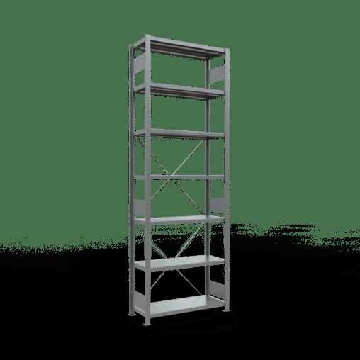 Steckregal Grundregal 3000x1000x400 mm Fachlast 330 kg 7 Fachböden SCHULTE Lagertechnik