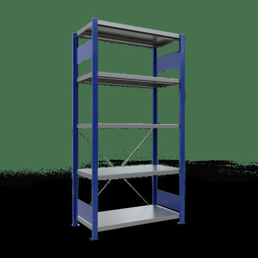 Steckregal Grundregal 2000x1000x500 mm Fachlast 330 kg Rahmen montiert 5 Fachböden SCHULTE Lagertechnik