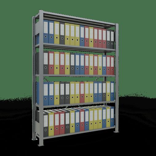 Steckregal Büroregal Grundregal 1800x1300x300 mm Fachlast 85 kg ohne Anschlagleiste SCHULTE Lagertechnik