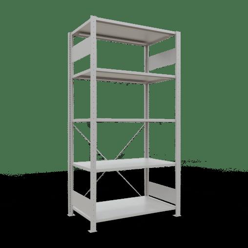 Steckregal Grundregal 2000x1000x600 mm Fachlast 85 kg Rahmen montiert 5 Fachböden SCHULTE Lagertechnik