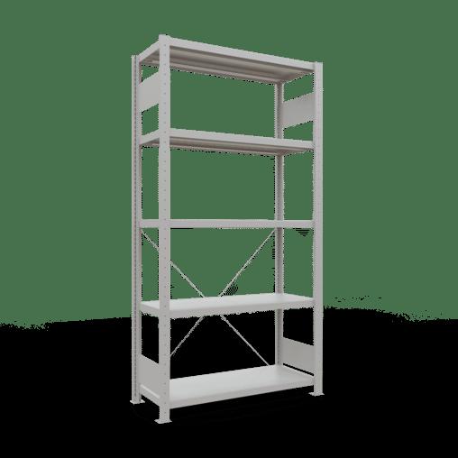 Steckregal Grundregal 2000x1000x400 mm Fachlast 330 kg Rahmen montiert 5 Fachböden SCHULTE Lagertechnik