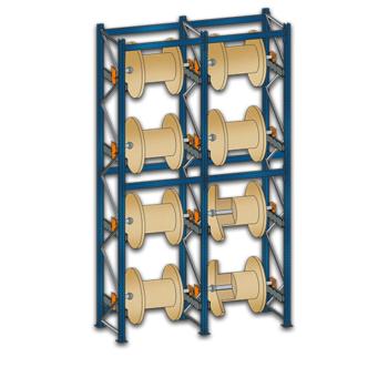 Kabeltrommelregal Blockroll Grundregal von SCHULTE Lagertechnik bei Kauf-dein-Regal.de