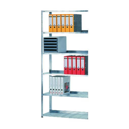 Schraubregal Büroregal Anbauregal SCHULTE Lagertechnik – 2000x1000x 300 mm, Typ 85 kg- Schulte