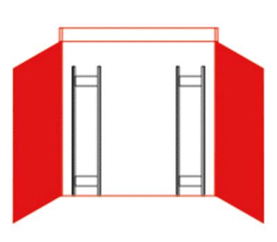 Containerregal-Set