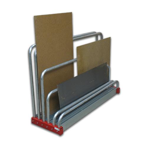 Reststück-Regal für Bleche SCHULTE Lagertechnik1000x480x1600 mm