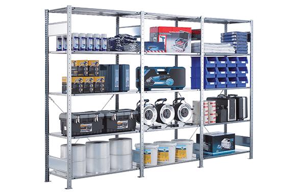 Lagerregal Steckregal von SCHULTE Lagertechnik online kaufen bei Kauf-dein-Regal.de