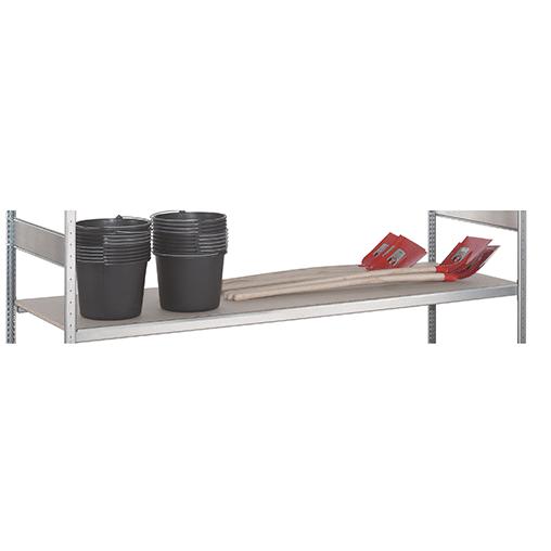 Weitspannregal Zusatzebene WS 2000 – 2500×600 mm, mit Stahlböden