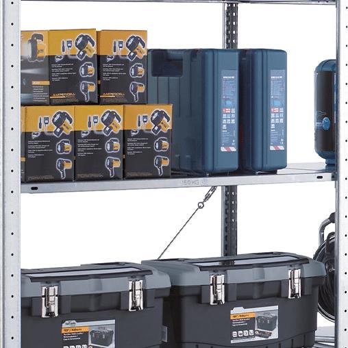 MULTIplus150 Fachboden 750×400 mm mit Befestigungsset