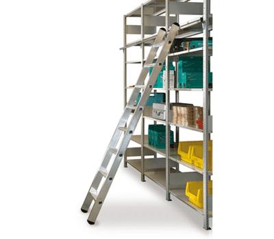 Aluminium Regalleitern einhängbar