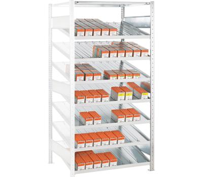 Kanbanregal Anbauregal von SCHULTE Lagertechnik online kaufen bei Kauf-dein-Regal.de