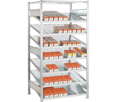 Kanbanregal Grundregal von SCHULTE Lagertechnik online kaufen bei Kauf-dein-Regal.de