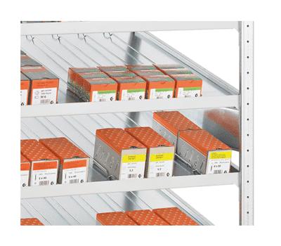 Kanbanregal Seitenführung für Stecksystem online kaufen bei Kauf-dein-Regal.de