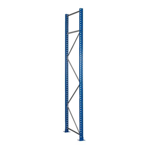 Palettenregal Ständerrahmen 3500×1100 mm (HxT), S610-M18 76 mm breit SCHULTE Lagertechnik