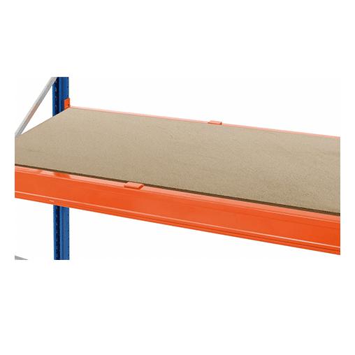 Spanplattenebene 2225x800x38 mm – incl. 3 versenkte Tiefenauflagen