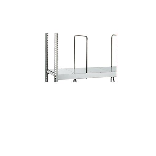 Weitspannregal WS 3000 Zusatzebene – 2500×1000 mm, mit mit Stahlpaneele