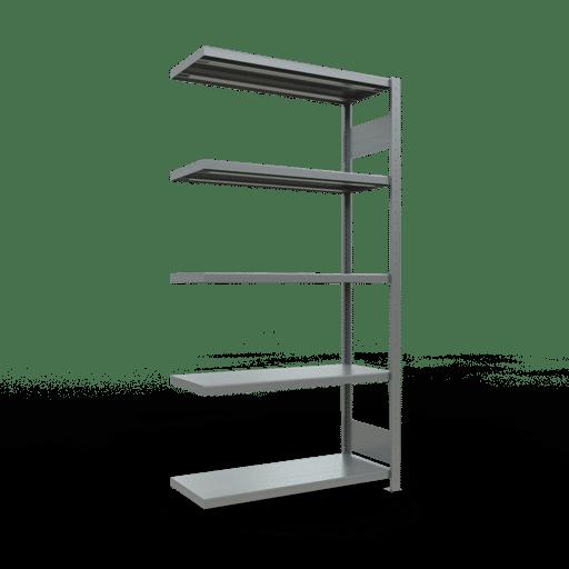 Steckregal Anbauregal  2000x1000x400 mm, Fachlast 250 kg mit Längenriegel SCHULTE Lagertechnik