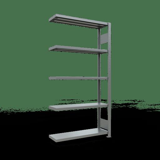 Steckregal Anbauregal 2000x1000x300 mm Fachlast 330 kg Rahmen montiert 5 Fachböden SCHULTE Lagertechnik