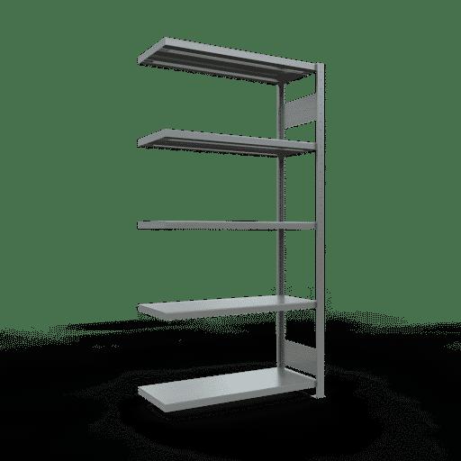 Steckregal Anbauregal  2000x1000x400mm, Fachlast 330 kg Rahmen montiert mit Längenriegel SCHULTE Lagertechnik