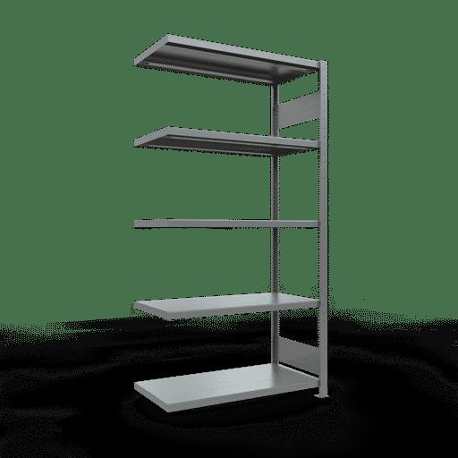 Steckregal Anbauregal  2000x1000x500 mm-  Rahmen montiert mit Längenriegel SCHULTE Lagertechnik