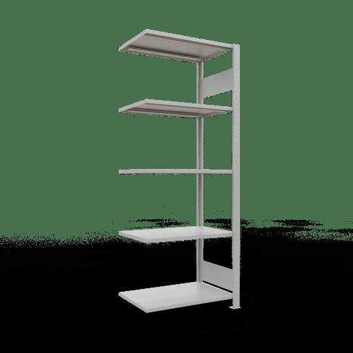 Steckregal Anbauregal  2000x 750×500 mm,  Fachlast 150 kg Rahmen montiert mit Längenriegel SCHULTE Lagertechnik