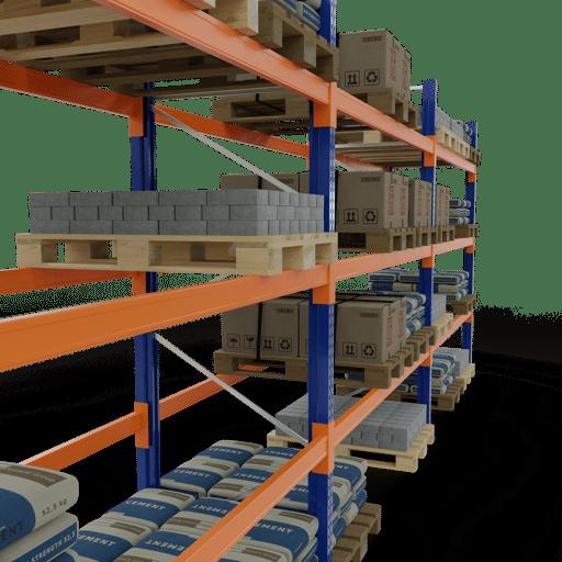 Palettenregal von SCHULTE Lagertechnik online kaufen bei Kauf-dein-Regal.de