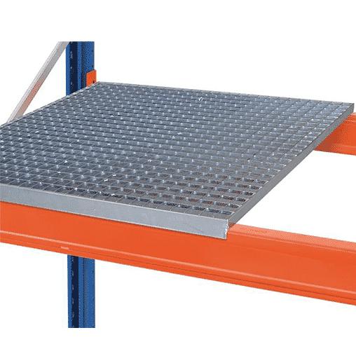 Gitterrost aufgelegt für Palettenregal 3900×1100 mm (BxT)