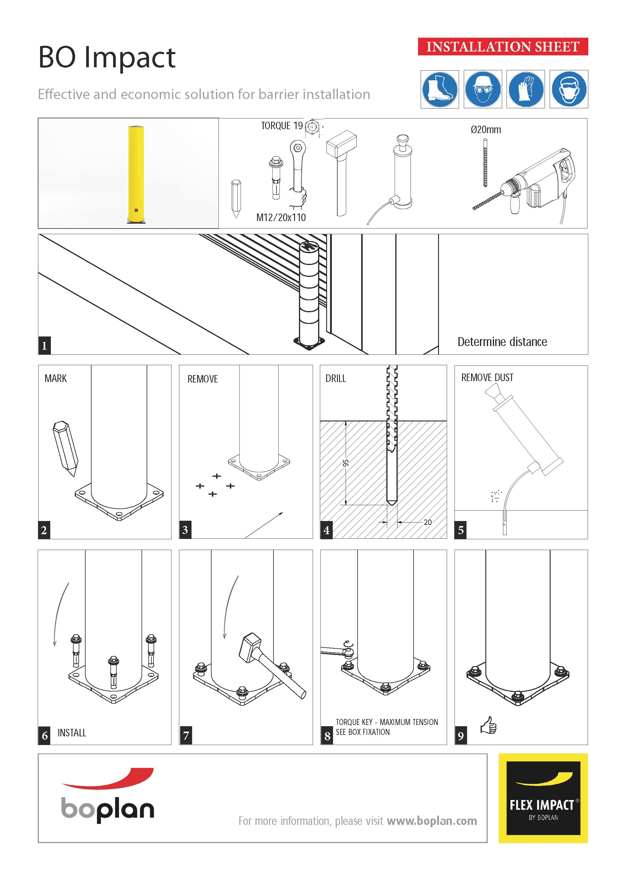 Montageanleitung BOPLAN BO Impact