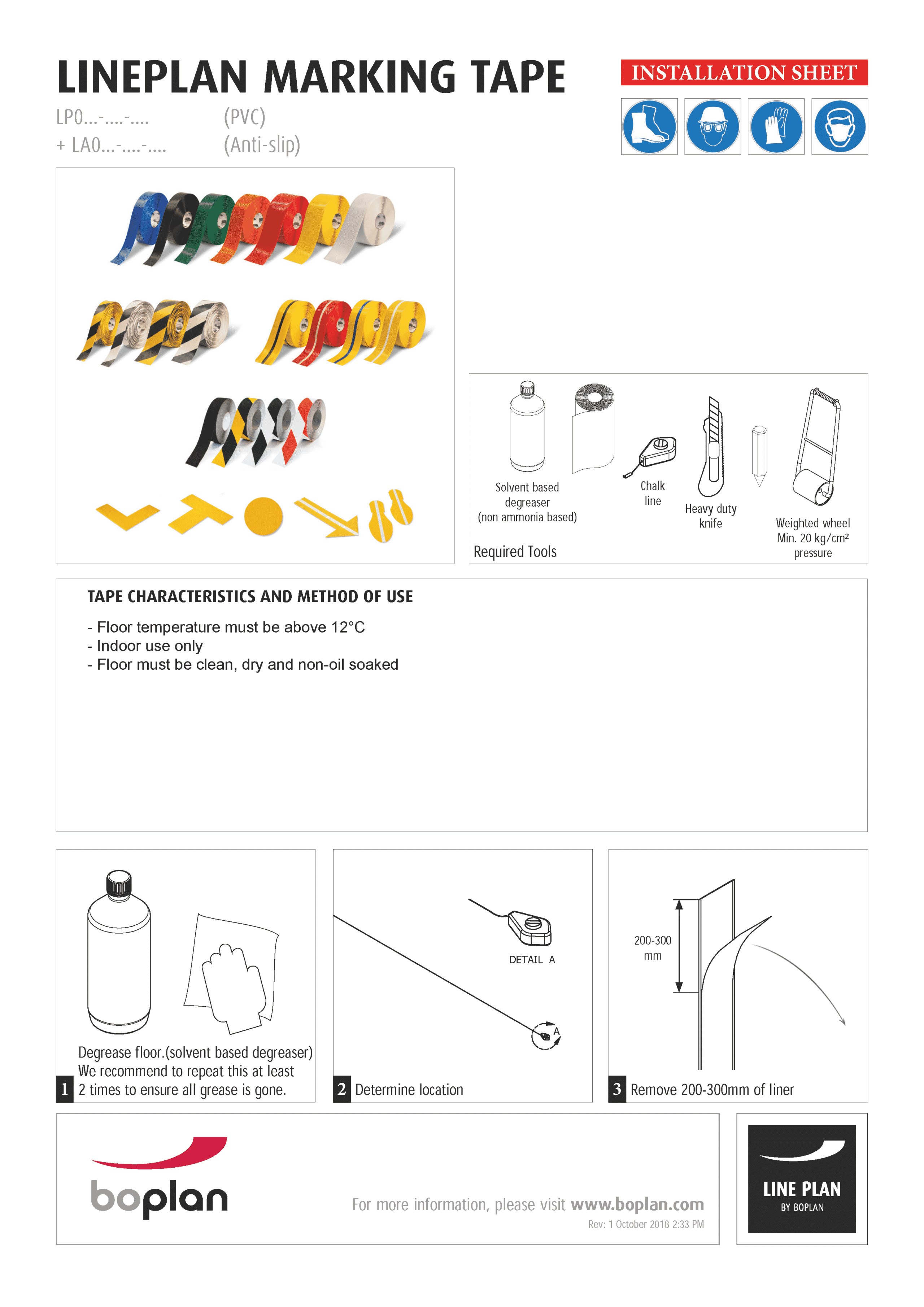 Montageanleitung Markierungsband boplan Lineplan_Seite_1