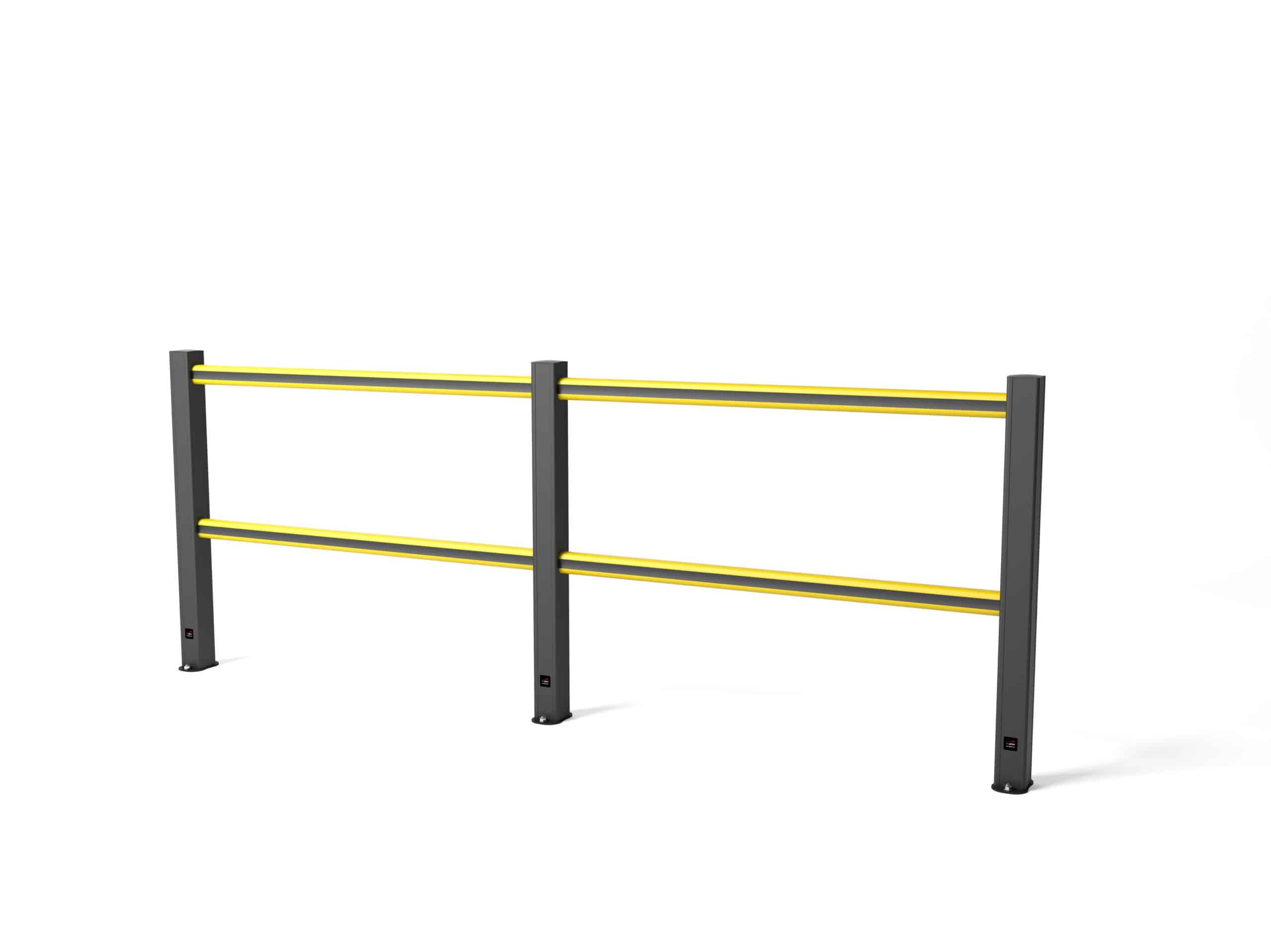 boplan® HD Light Set 3750 mm – schwarz/gelb (4P-schwarz)