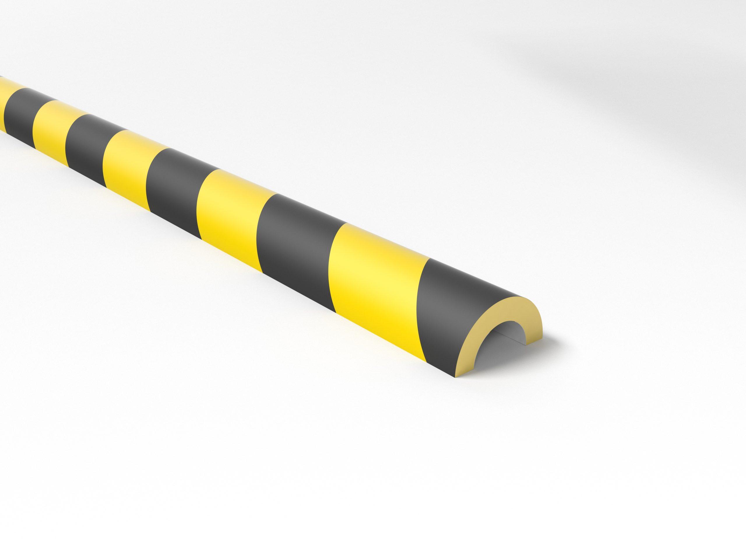 Schutzprofil boplan® Teddy Pro RR30 – Rohr – 50x25x2000mm – YB