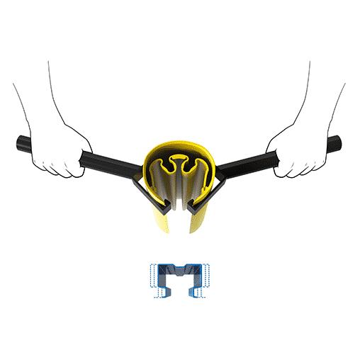 boplan® Rack Bull Montagehilfe für Regalanfahrschutz
