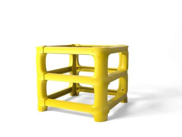 Säulenschutz boplan® CP Universal – zuschneidbar max. 1000x1000mm