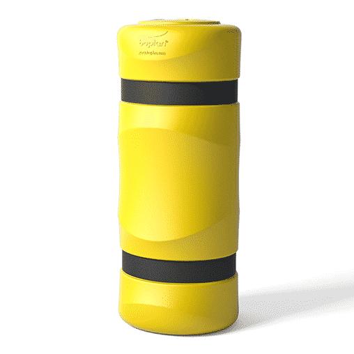 Säulenschutz Pfeilerschutz KP boplan® Flex impact® für 150x150mm Säule, gelb