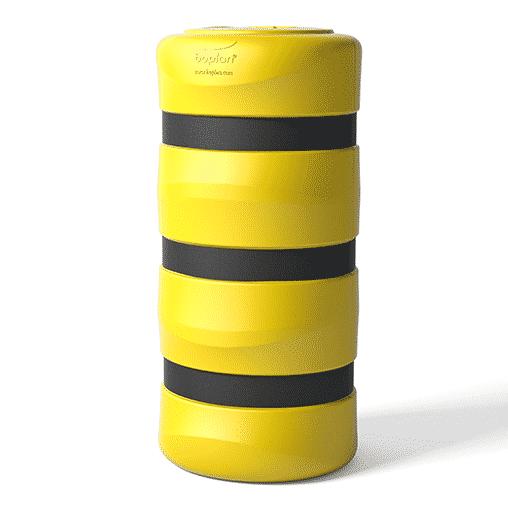 Säulenschutz Pfeilerschutz KP boplan® Flex impact® für 200x200mm Säule, gelb